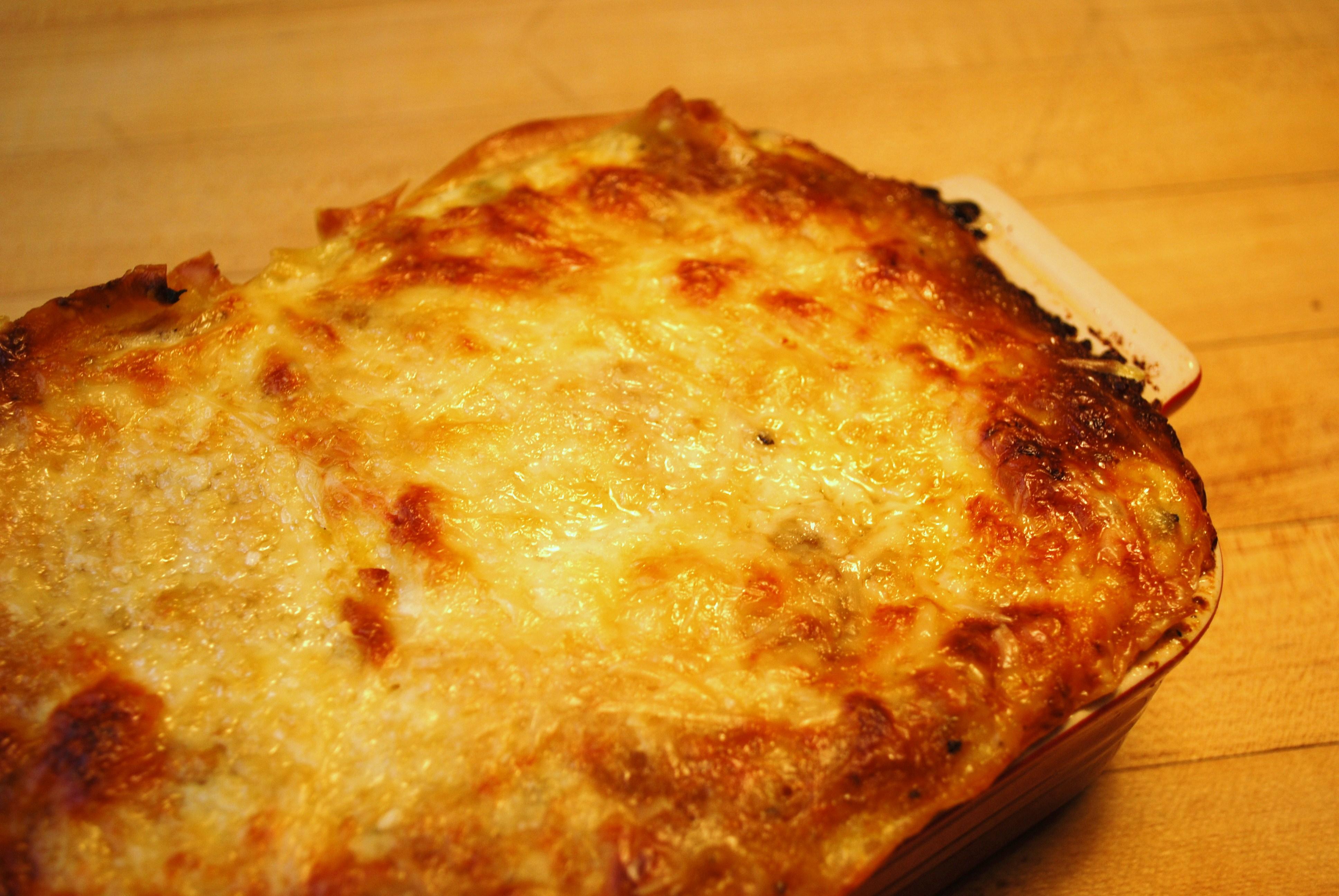 Trick or Treat & Butternut Squash Lasagna