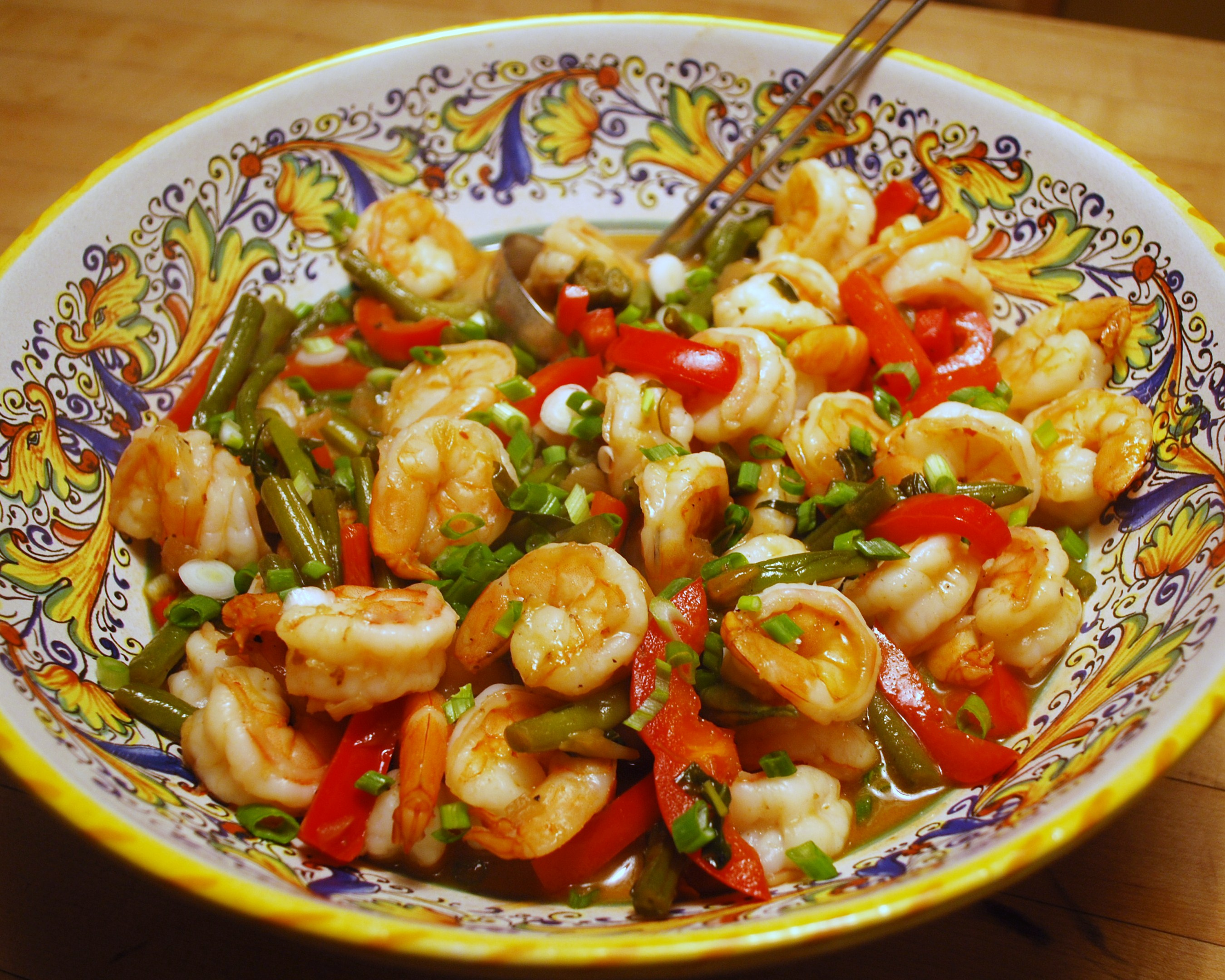 Are You in a Culinary Rut? & Thai Curried Shrimp and Green Beans