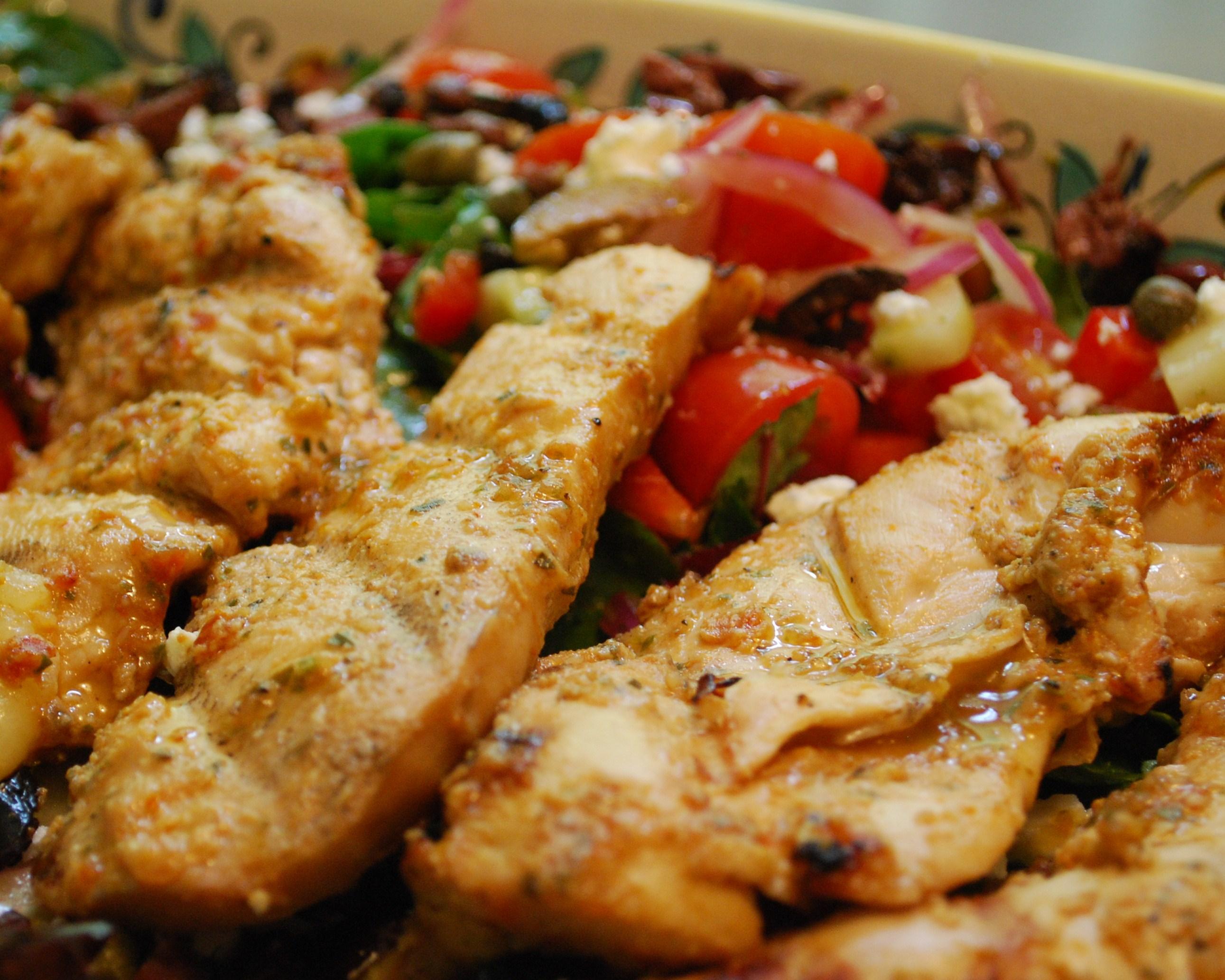 Dog Daze & Grilled Chicken Salad Provencal   Susan Nye – Around the ...