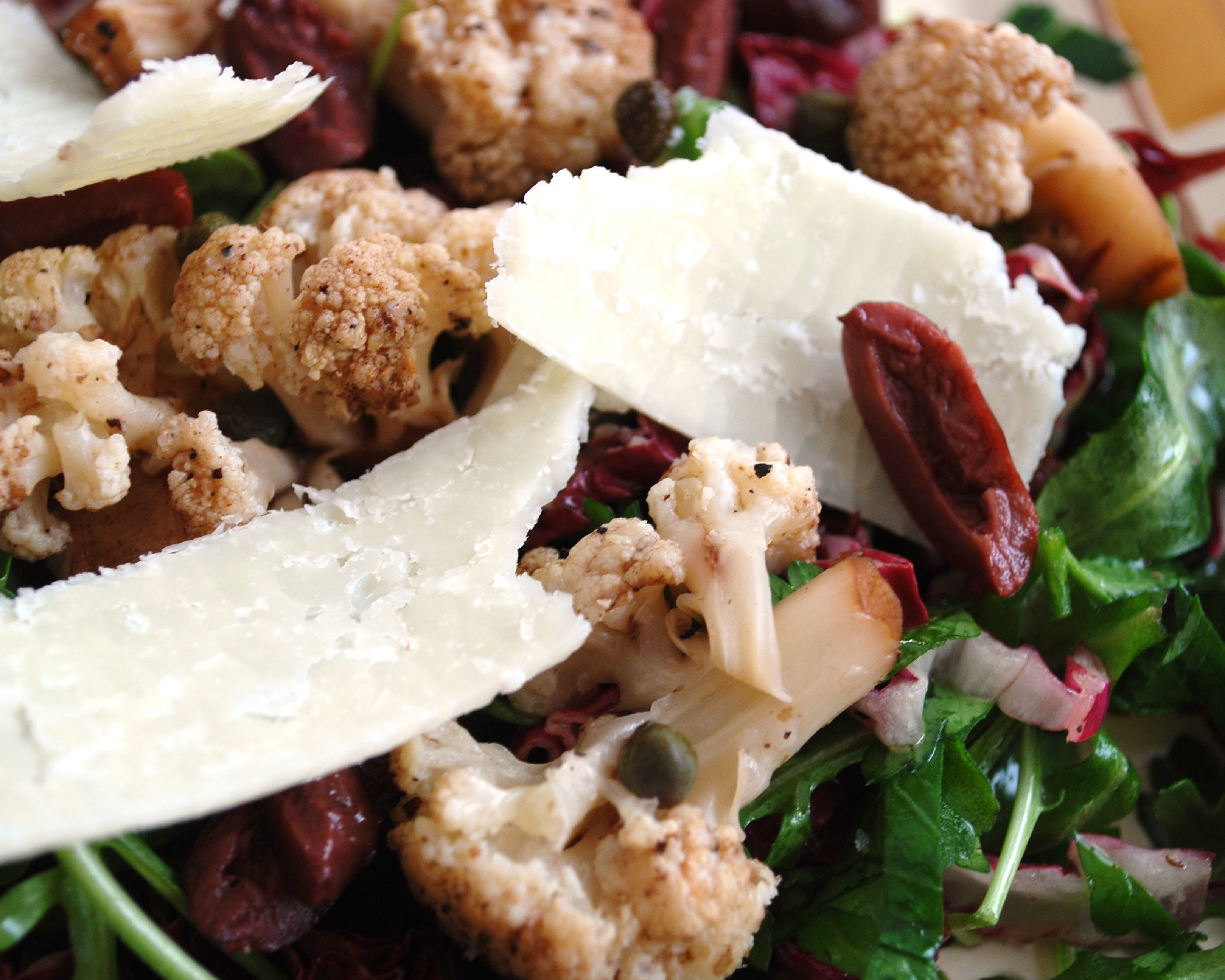 Welcome 2014 & Roasted Cauliflower, Radicchio & Arugula Salad | Susan...
