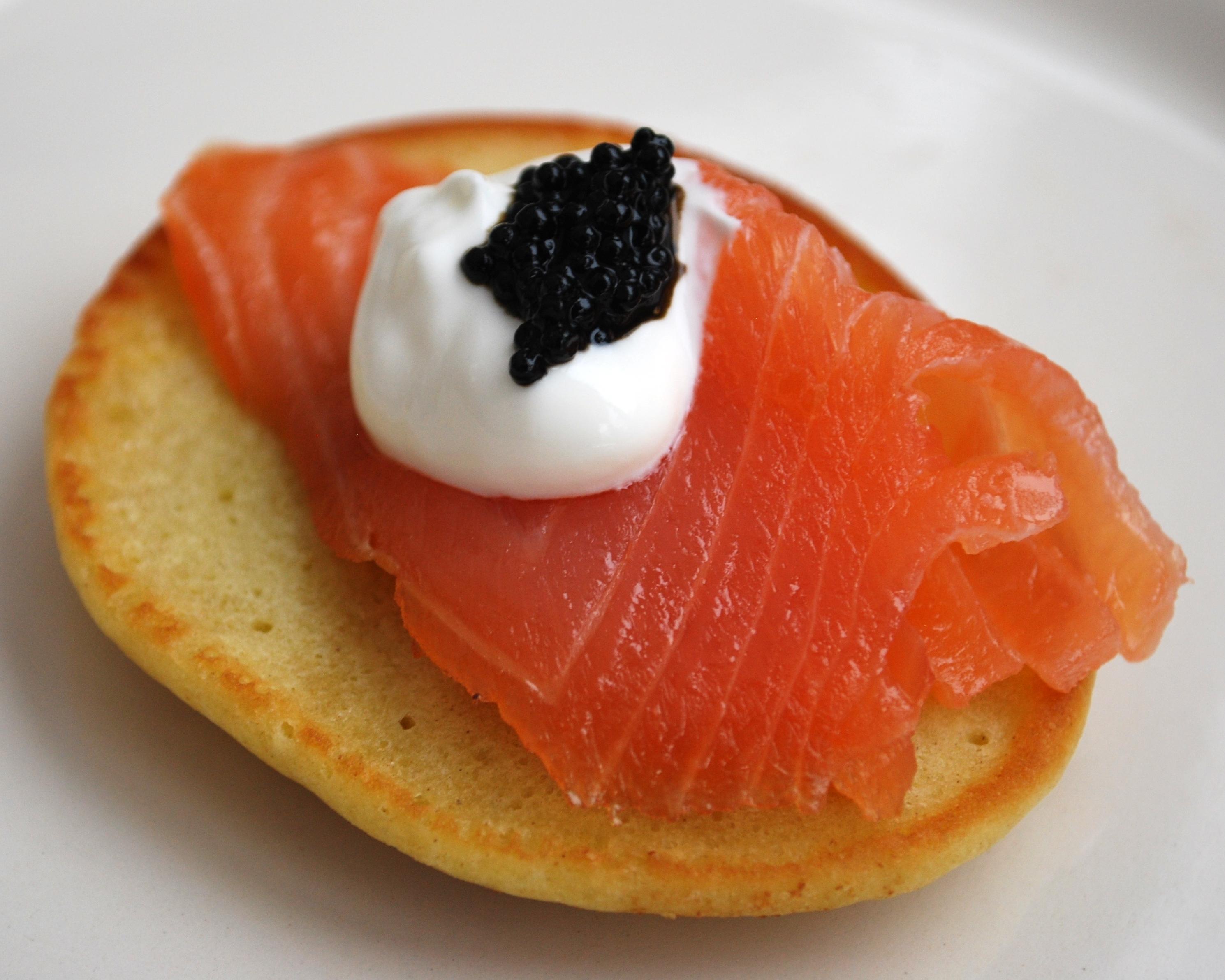 caviar salmon and caviar blini gravlax and salmon caviar red salmon ...