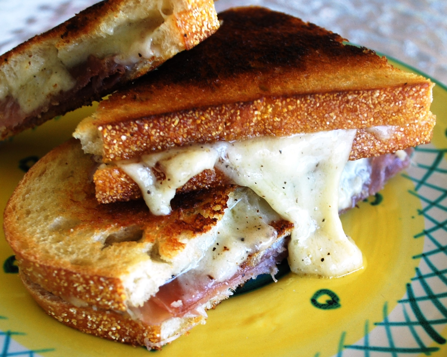 April Is National Grilled Cheese Month & Not Your Ordinary Grilled Ham ...
